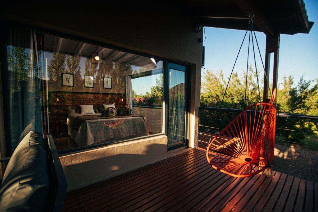 Cabaña Standard de 2 dormitorios Planta Alta Vista al Rio 40 m2