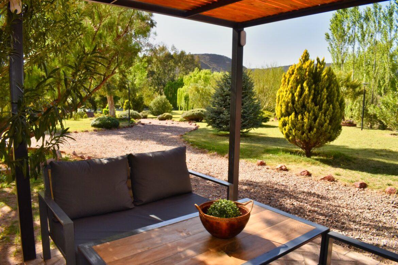 Cabaña Standard de 2 dormitorios Planta Baja Vista al Rio 40 m2